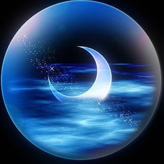 我俩一起看月亮(自由诗)