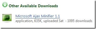 用Mircrosoft AJAX Minifier帮JavaScript 瘦身 - 每天积累一点 - 学无止境