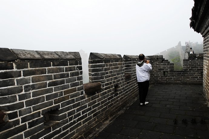 北京的金山岭长城 - Y哥。尘缘 - 心的漂泊-Y哥37国行