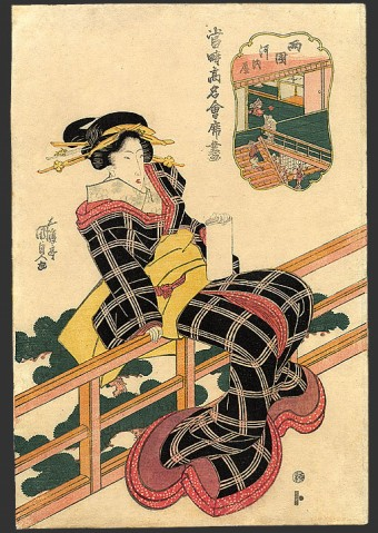 日本浮世绘艺术对欧洲艺术的影响 - 赵月梅的日志 - 心源美术教育 - Powered by Discuz! - 好哥 - 好哥