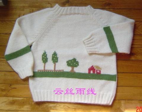【转载】云丝雨线 握手服毛衣教程 - 小雅优逸 - 小雅优逸的博客