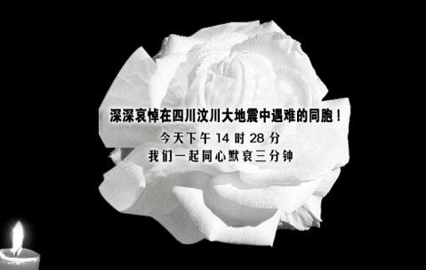 深切哀悼汶川大地震遇难同胞(图) - 紫荆 - 情感的告白