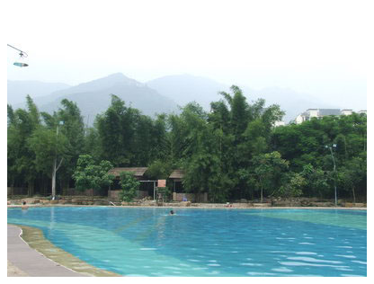 肇庆行(2)——山水泳池 - lq -