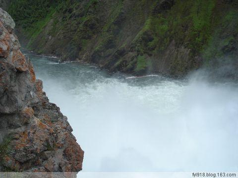 [原创] 美国黄石公园风光欣赏(3):黄石大峡谷和瀑布 - 阳光月光 - 阳光月光