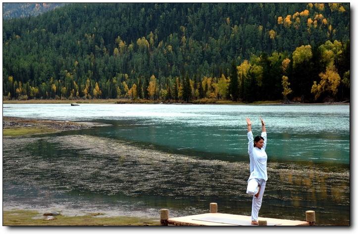 (原创)新疆行之-- 梦幻喀纳斯 -- 我把魂丢在了神的后花园 - 鱼笑九天 - 鱼笑九天