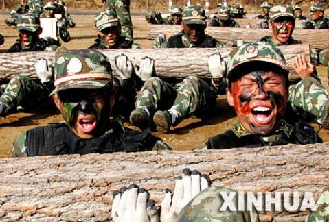 中国武警特警的拳头尖刀部队 雪豹突击队图片
