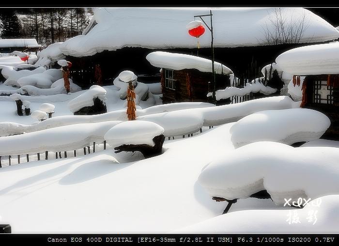 【穿越东北】 9、冬日里的童话 - xixi - 老孟(xixi) 旅游摄影原创作品
