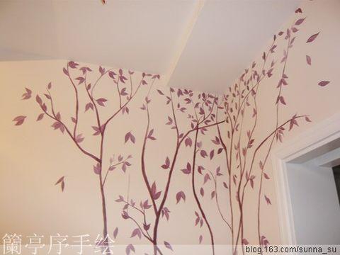 重庆手绘墙兰亭序手绘设计