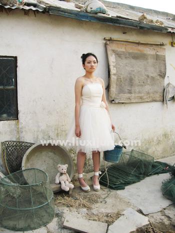1214婚纱广告拍摄花絮 - 惜小君 - Sara的地盘呀!