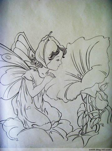 上传几幅速写 - 满庭蝴蝶儿 - 满庭蝴蝶儿