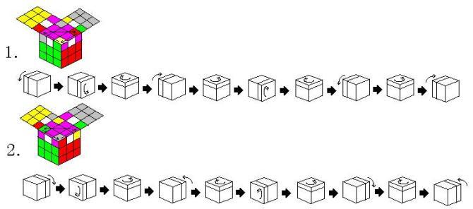 怎样玩魔方,魔方口诀,魔方玩法 转 step by step图片