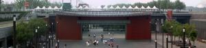 奥运地铁车站