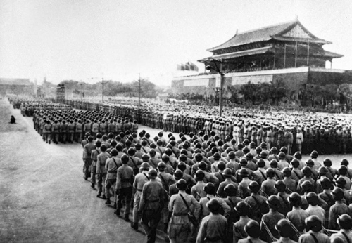 六十年前开国大典的阅兵 - 刘仰 - 一个人的世界