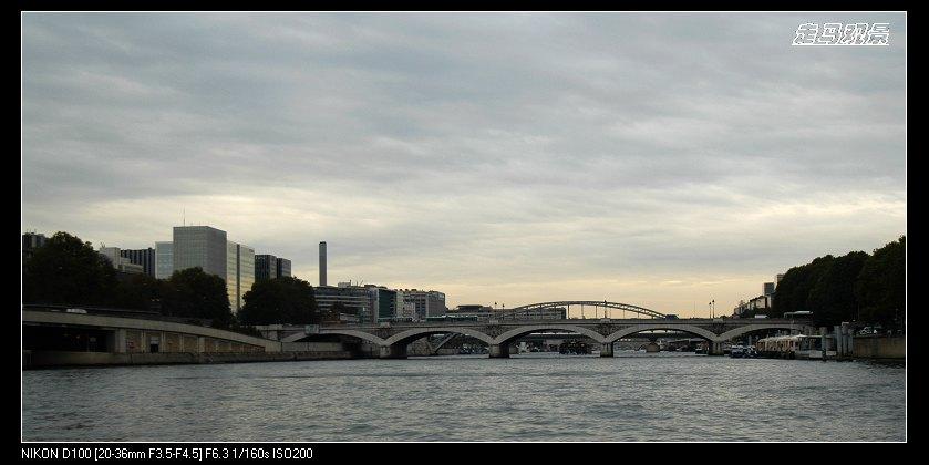 再见塞纳河 - 西樱 - 走马观景