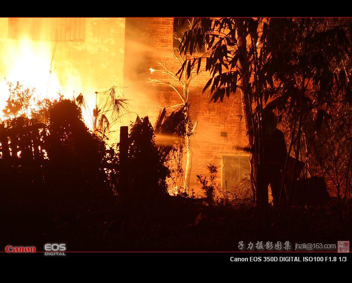 [原创] 今晚火灾记实 - 子力 - 子力摄影图集