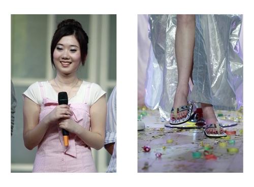 中国第一腿模刘蕾