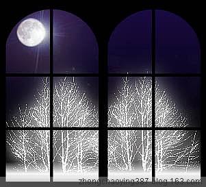 原创-古体-《严冬孤月》文/光明之子 - 光明之子 - 光明之子的博客