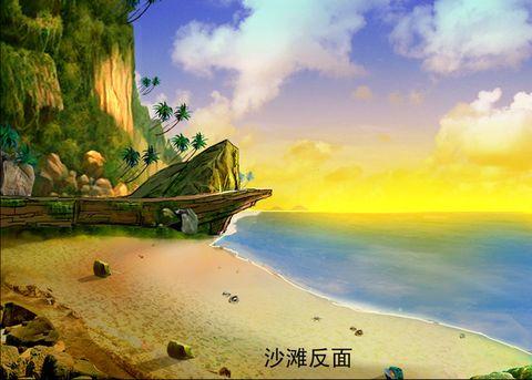 彩铅手绘海边风景