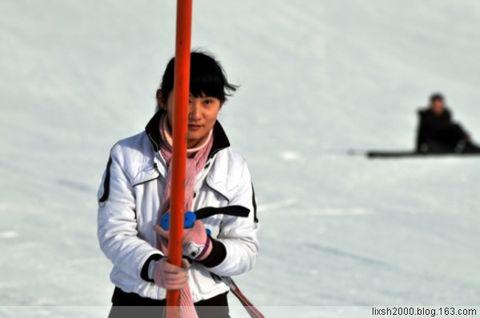 千姿百态 优美舞者 丝绸之路雪场 - 阿凡提 - 阿凡提的新疆生活