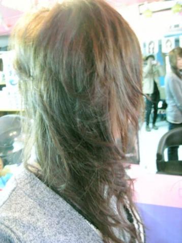 日系染发---镇店色---浅闷青亚麻色 - miki楚 - MiKi日系髪型工作室
