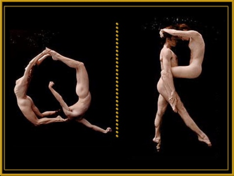 人体字母 - 老排长