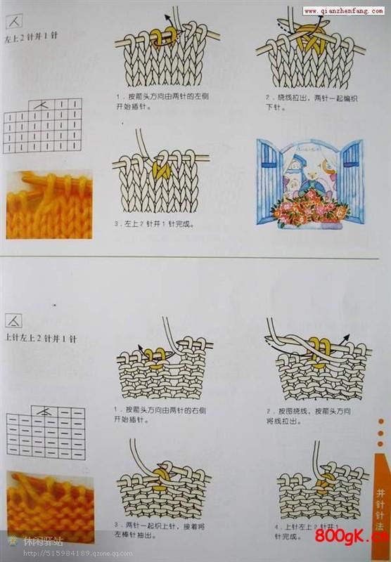 时尚短衫的编织方法 - 芙蓉 - 芙蓉的博客