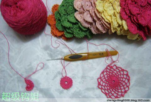 引用 教你钩围巾(1.2.3步骤) - 英子 - 英子