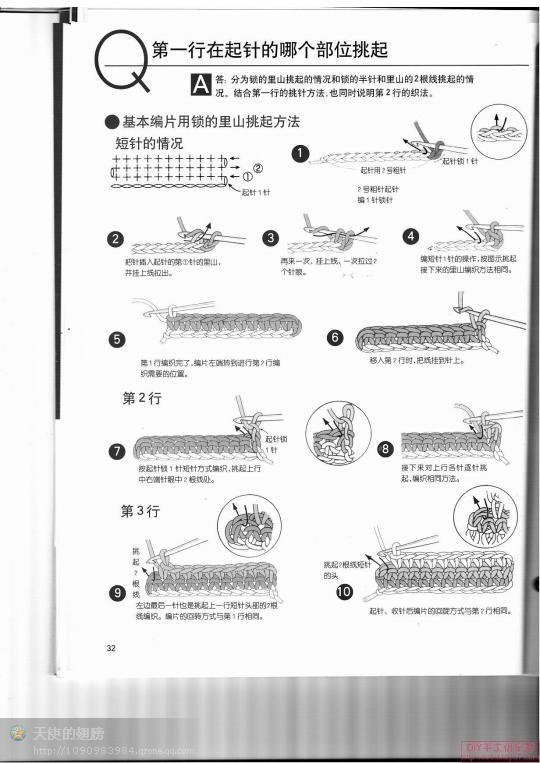 钩编疑难全攻略(转载) - 浮萍 - 浮萍的博客