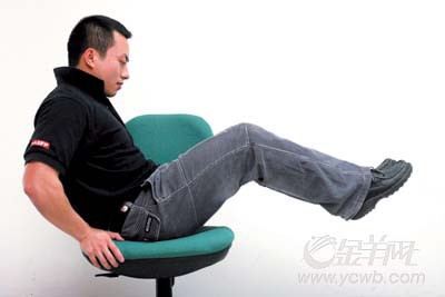 办公室健身 每天精神8小时