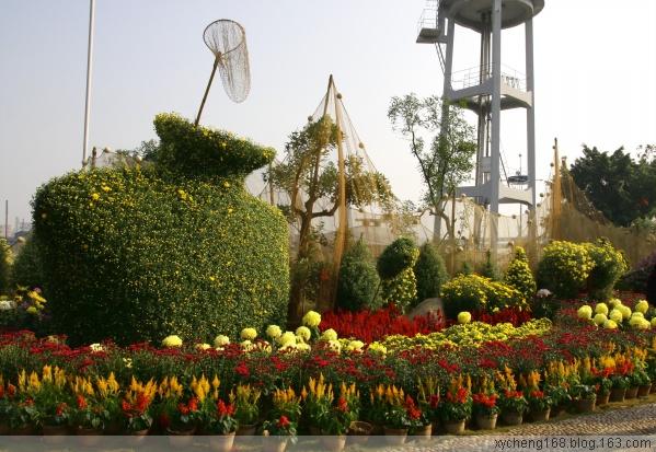 【原创】景点:蚕、鱼之乡 - 新艺城主 - 菊花艺术芳草地