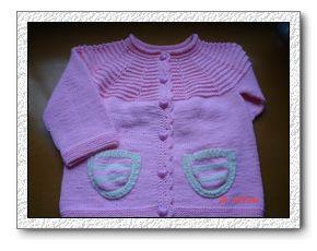 最近给女儿织的衣衣 - 平凡的女人 - 平凡女人的编织小屋