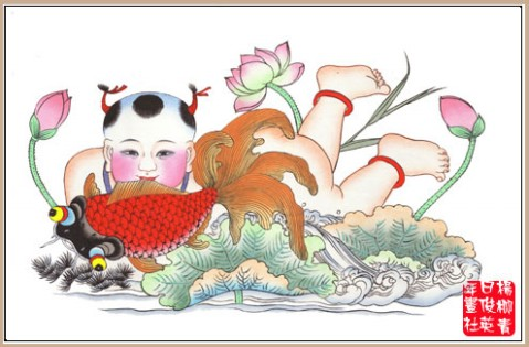 杨柳青年画欣赏