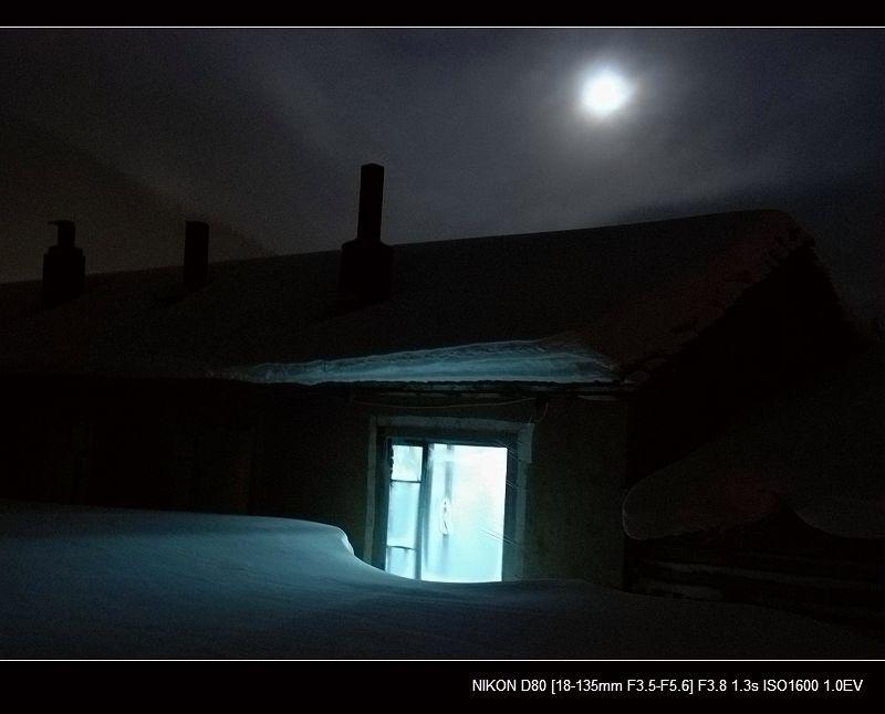 银白假期___雪乡之夜 - 西樱 - 走马观景
