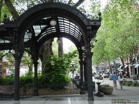 到西雅图观光(7):开拓者广场 - 阳光月光 - 阳光月光