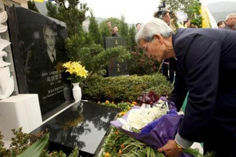 美国前驻华大使司徒雷登骨灰安放杭州 - al老虎 - 活在过去