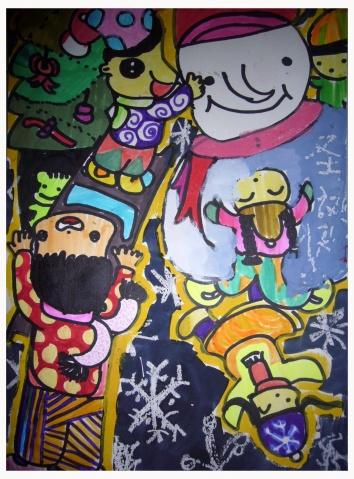 2008年12月21 - 童心飞扬 - 童心看世界