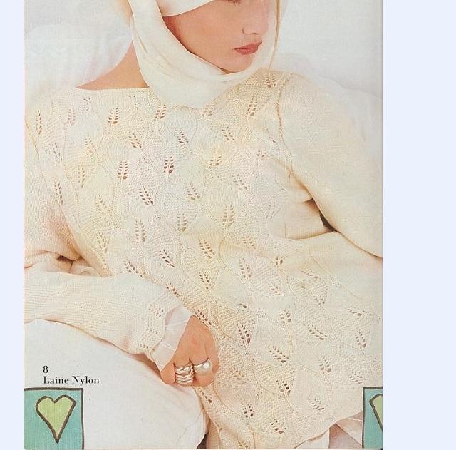 漂亮的白毛衣 - lily - llhtourist 的博客