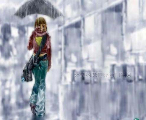 Sometimes When It Rains (下雨的时候) - 西门冷月 -                  .