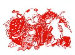 民间艺术:剪纸年画欣赏 - 故乡月明 - 故乡月明的博客---欢迎朋友光临指导