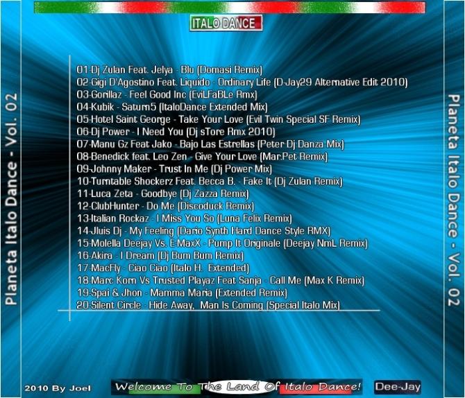 VA-Planeta Italo Dance Vol.02-2010 - 意大利铁匠 - 分享劲爽节奏--XINBO21