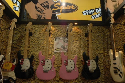 北京乐器展 身在吉他的世界 - 哈雷宝贝 - 我的博客