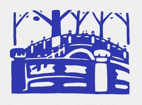 孔 庙 的 树 - 何鸣芳 - 何鸣芳的版画藏书票博客