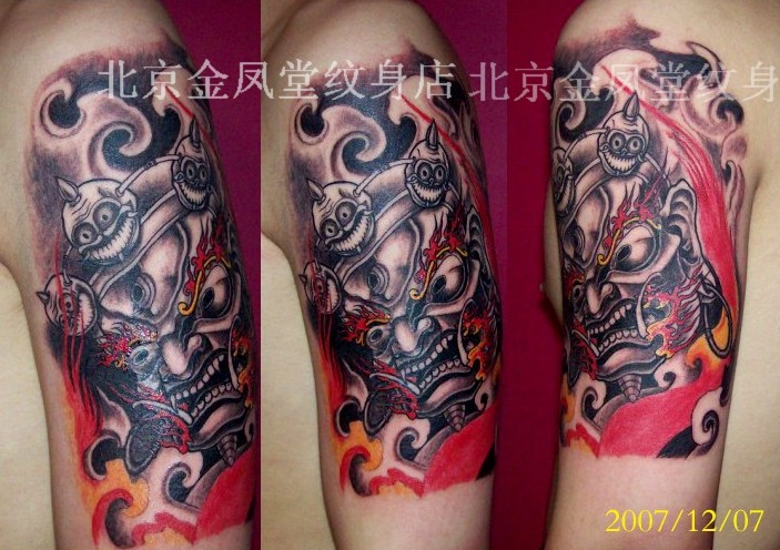 这几天的部分图案 - 金凤堂纹身 - 纹身价格 纹身图案 北京金凤堂纹身