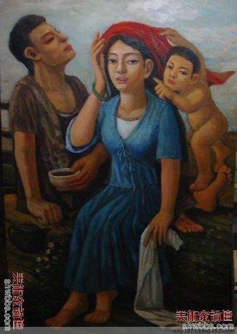 解读油画<<日子>>     王能艺 - wny1971 - wny1971的博客