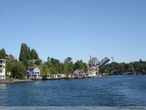 到西雅图观光(23):运河两岸风光 - 阳光月光 - 阳光月光