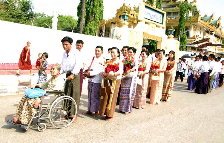 缅甸风情 - 西樱 - 走马观景