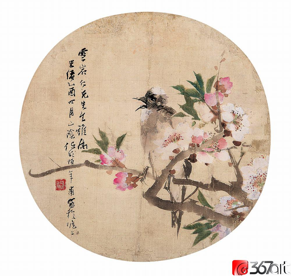近代杰出画家 -- 任伯年作品欣赏(花鸟篇) - 中华世纪书画协会 - 郭富华的博客