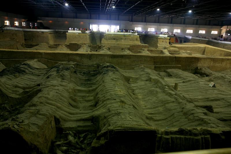引用 [原创]秦始皇陵兵马俑-世界第八大遗产 - fababc@126 - @挥||||