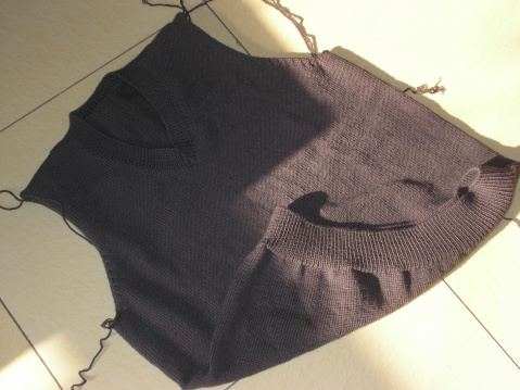 老公的毛衣编织进程(完工啦) - 闹闹腾腾 - 闹闹腾腾的博客