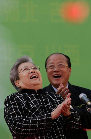 国务院副总理吴仪宣布启动健康工程